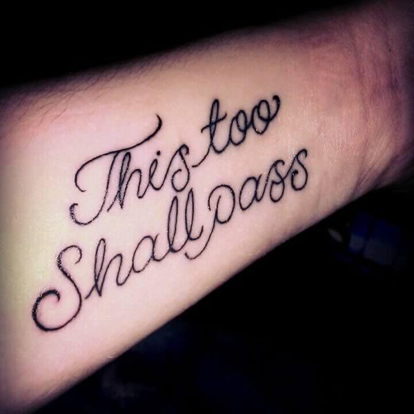 盘点奇葩的离婚纹身