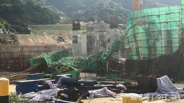 深圳地铁工地再发坍塌事故现场(组图)