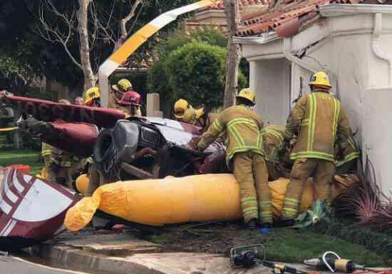 美直升机坠毁砸民房 事件造成3死2伤! - 点击图片进入下一页