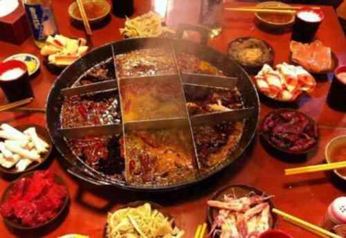 这个火锅,好吃的不得了