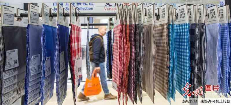 春季纺织联展在上海举行