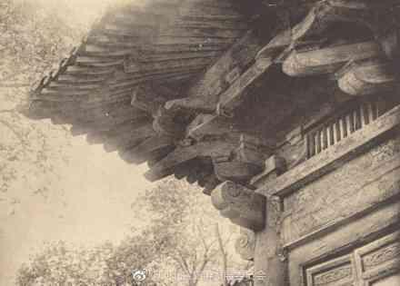 珍贵老照片:1920年代,河北正定隆兴寺。